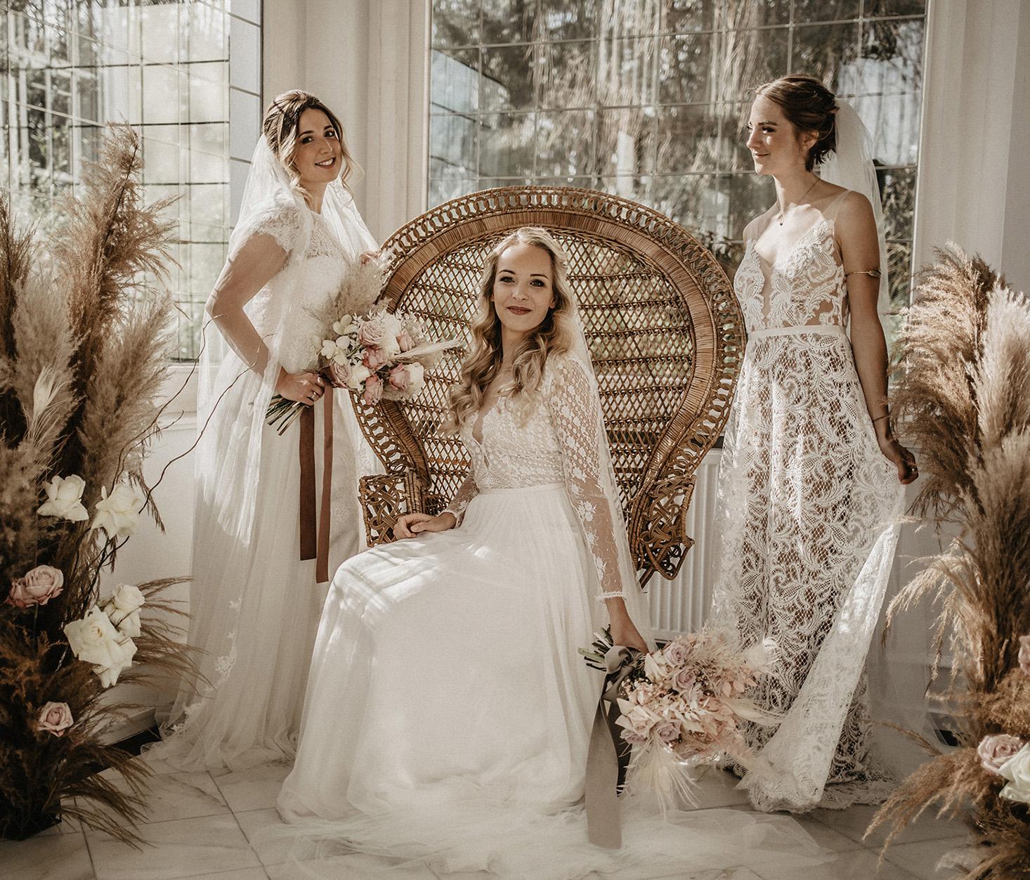 Hintergrund der Real Brides